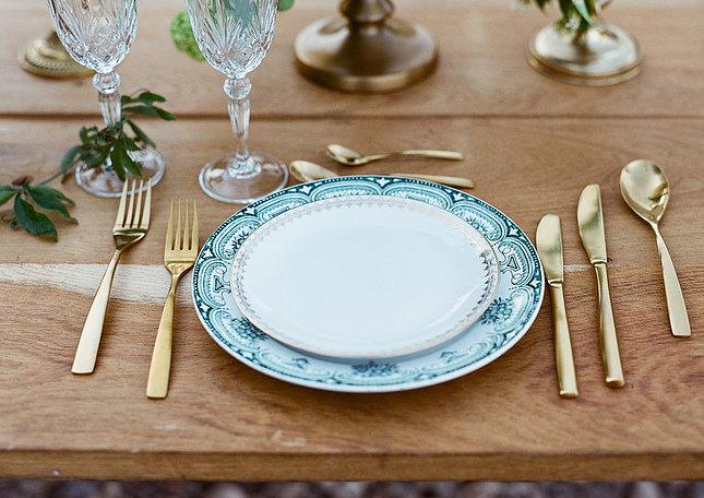 Art de la Table - Repas Vintage