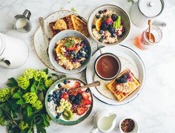 Nos lieux pour un petit déjeuner