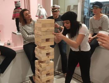 Box de jeux géants